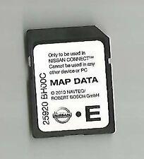 Tarjeta SD Nissan Connect 2009-2013 Nav mapa Micra Note Cube Qashqai Juke 25920BH00C