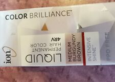 Ion Liquid Permanent Hair Color 4RV/4 boxes