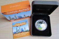 Australien 1 Dollar 2011 Celebrate Australia Western Australia 1 Oz Silber