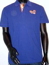 "SIGNUM Camiseta polo manga corta Tamaño S "" sqm19twenty"" Púrpura/azul NUEVO"