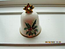 1990 Goebel Seventh Edition Annual Christmas Bell Ornament