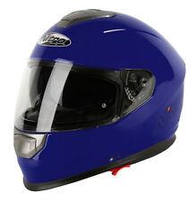 Nitro Np-1100f Apex DVS Full Face Scooter Motorcycle Helmet Crash Blue Large