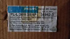 Philips #34942-3   PL/L 36W/35/4P  case of 25 lamps