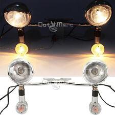 Passing Light Bar Turn Signals Fit Kawasaki VN Vulcan Classic Drifter 800 NEW