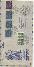 Sweden   nice  SAS flight cover  to  Thailand   1949   KL0228