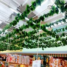 1 String Natural Artificial Ivy Leaf Garland Plants Fake Foliage Flowers Decor_