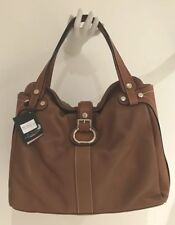 NWT TENTAZIONE DUE LEATHER LARGE TOTE 👜 BAG ITALY TOP of the LINE