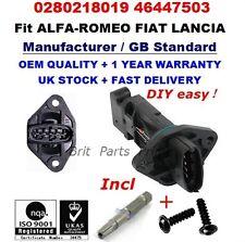 Mass Air Flow meter Sensor 0280218019 for ALFA ROMEO 145 146 156 166 GTV SPIDER