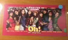 GIRLS' GENERATION SNSD Oh! K-POP Photocard Yoona Taeyeon Tiffany Sooyoung