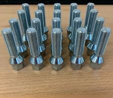 20 X M14X1.5 50MM LONG EXTENDED ALLOY WHEEL BOLTS FIT VW T4 T5 T6 TRANSPORTER