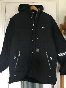 Nike Jordan Doudoune à capuche, Noire, Homme, Taille M, NEUF, manteau, hoodie
