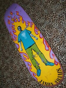 Think Jason Adams 1992 Vintage Skateboard deck BLACK LABEL Rare