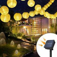 Waterproof Solar Powered 30LED String Light Garden Path Yard Outdoor Decor Lamp