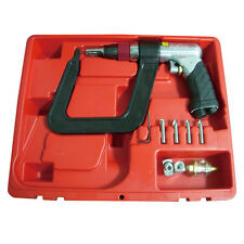 """Astro Pneumatic 1756 AIR SPOT DRILL KIT WITH 5.5"""" DEEP CLAMP AND 5 DRILL BITS"""