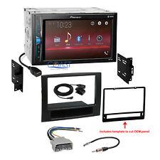 Pioneer 2018 Bluetooth Multimedia Stereo Dash Kit Harness for 06-08 Dodge Ram