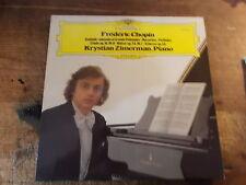 "KRYSTIAN ZIMERMAN "" FREDERIC CHOPIN""   LP"