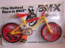 BMX mini-bike kit 30 cm amarillo 80er años OVP