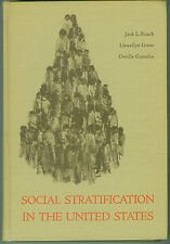 SOCIAL STRATIFICATION IN THE UNITED STATES language and logic