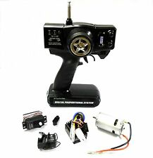 T27AM2E Remote Control RC Transmitter 2 Channel Receiver 27mhz AM + Servo + ESC