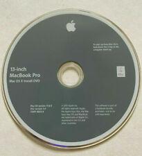 "2010 Macintosh Mac 13"" MacBook Pro OS X 10.6.3 Snow Leopard Software Install DVD"