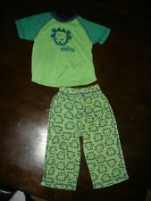 Euc Carter's My Little monster pajama set pjs toddler 2T worn once