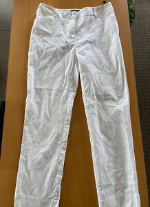 Sportscraft White Chinos Size 8