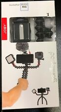 JOBY - GorillaPod Mobile Rig Tripod for Mobile Phones - Red/Black