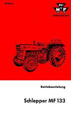 Bedienungsanleitung Massey Ferguson Traktor MF133 MF 133