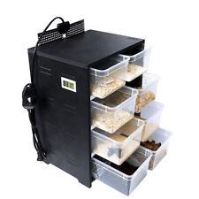 Acrylic Reptile Enclosure Lizard Spider Turtle Breeding Box Cage Storage Tank