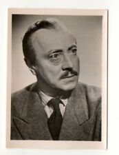 Hubert von Meyerinck 1951 Greiling Film Star Series E Cigarette Card #21