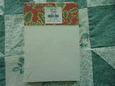 NEW Crane 5X7 Inch Red Holly 75 Sheet pad of Paper