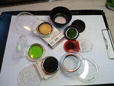 KONVOLUT Filter für Balgen und Kleinbildkameras 32mm und 40,5mm