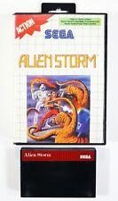 Sega Master System Game Alien Storm Dt. Pal Original Packaging