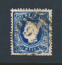 Portugal 1867 , 120s Perforado 12 ½, VF Usado Sc# 32 ( Ver Abajo )