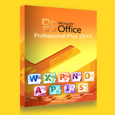 MICROSOFT OFFICE 2010 PROFESSIONAL PLUS - German Version