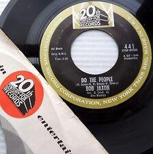 Bob Jaxon Do The People b/w Weep Mary Weep 1963 Soul Funk Novelty fox 45 m360