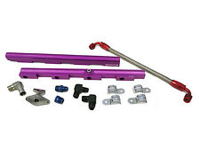 OBX Purple Aluminum Fuel Injection Rail for 1999-2004 Ford Mustang GT 4.6L 2V