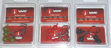 VMC Barbarian Shakey Jigs (Lot of 3-Watermelon/Black/Red-1/4-4/pk)