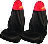 Car SUV Seat Cover Waterproof Nylon Front Pair Protector fits BMW & Mini Red Top