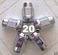 20 12X1.75 STD CHROME WHEEL LUG NUTS FORD F150 EXPEDITION LINCOLN NAVIGATOR