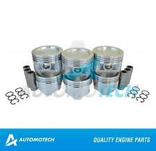 SIZE STD - Piston Set For Chevrolet Suzuki Tracker 2.5L H25A