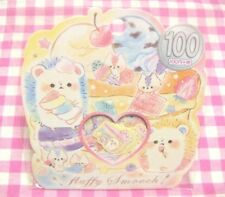 KAMIO JAPAN / Fluffy Smooch Flake Sticker / Japanese Stationery Hedgehog