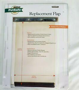 """PetSafe  Replacement Flap for Dog Doors 11.25"""" x 8.25"""" Medium Quick Fit RFA-103"""