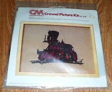 "Engine No. 8 Columbia Minerva Crewel Picture KIT 7807 *NOS Sealed 12 X 9"" (1977)"
