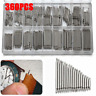 360PCS 8-25mm Watch Band Strap Spring Bars Stainless Steel Link Pins + Box Kit