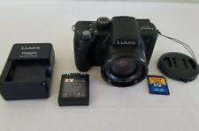 Panasonic LUMIX DMC-FZ5 5.0MP Digital Camera - Black *GOOD/TESTED*
