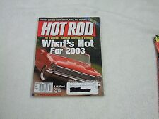 Hot Rod Magazine ~ February 2003 ~ How To Buy The Right Crank, Rods, And Pistons