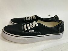 NEW VANS off the wall Authentic Sneaker Black/white Mens Sz 10 RRP$99.95