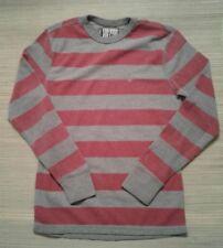 Volcom Boys Striped Sweater Shirt Size M