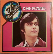 """12"""" JOHN ROWLES the original (if I only had time, one day,) 70`s MCA Coral"""